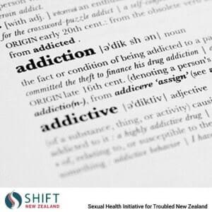 Sexual addiction definition
